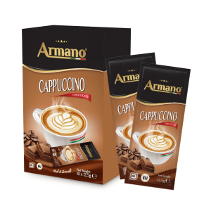 Cappuccino Chocolate 12.5g pouches