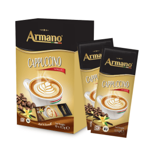 Instant Cappuccino Vanilla 12
