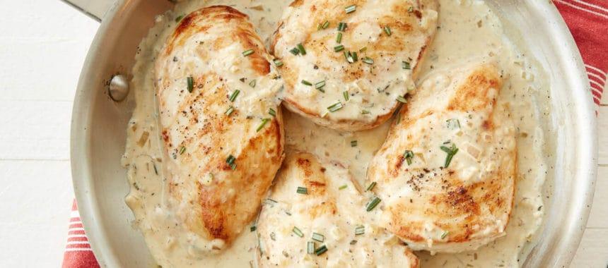 Grilled Chicken with MJ's Dijon Mustard & Yoghurt