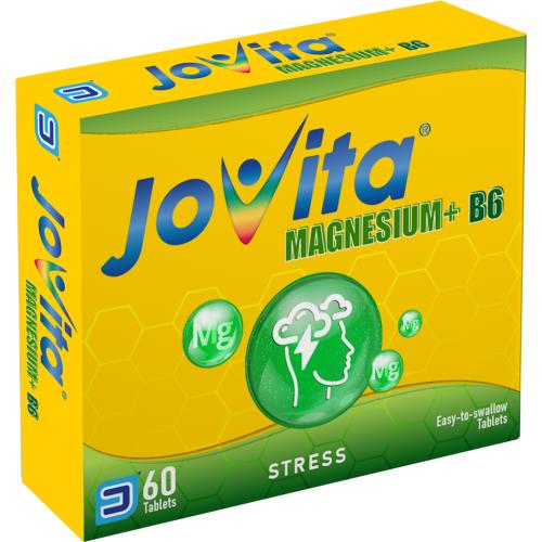 Magnesium B6 Tablets Box Stress