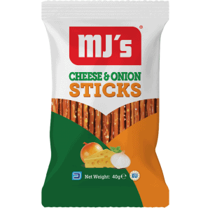 Cheese and onion sticks 40g