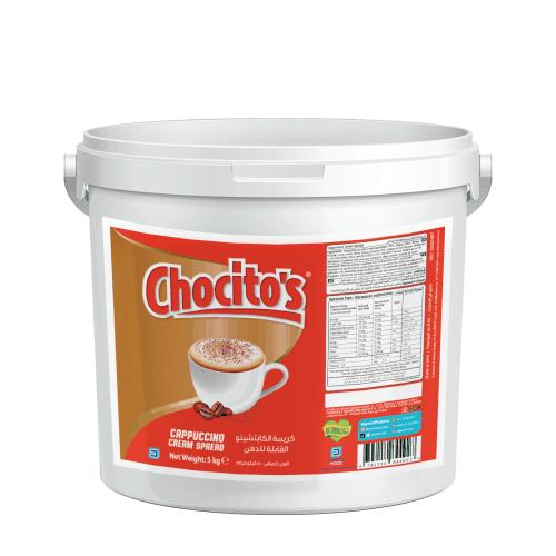 Chocito's Cappuccino Cream Spread 5kg