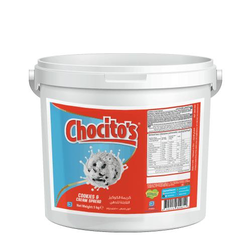 Chocito's Cookies & Cream Spread 5kg