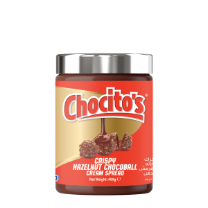 Chocito's Crispy Hazelnut chocolate cream spread 400g