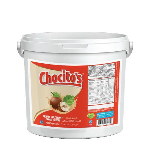 Chocito's White Hazelnut Cream Spread 5kg