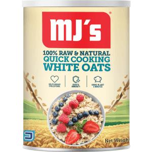 MJs Oats Tin 400g